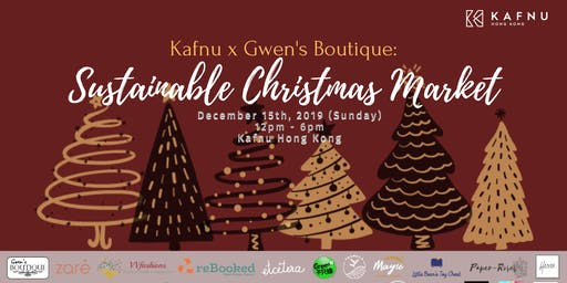 Kafnu x Gwen's Boutique: Sustainable Christmas Market