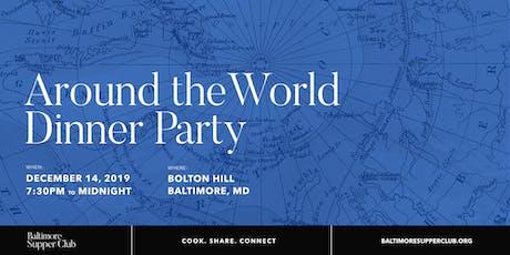 Baltimore Supper Club: Around the World Dinner Party tickets