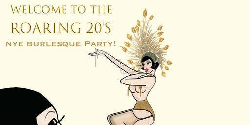 Welcome to the Roaring 20's NYE party
