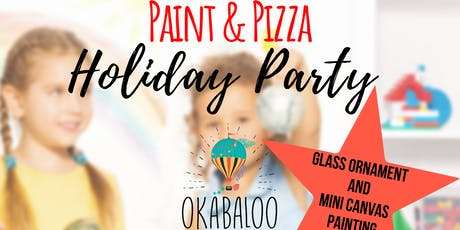 PAINT & PIZZA HOLIDAY PARTY tickets