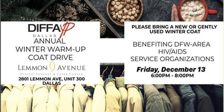 DIFFA YP Winter Warm-Up Coat Drive & Holiday Social tickets