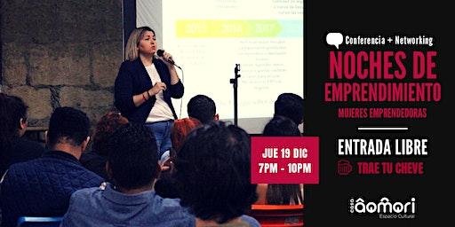 Noches de Emprendimiento: Mujeres Emprendedoras