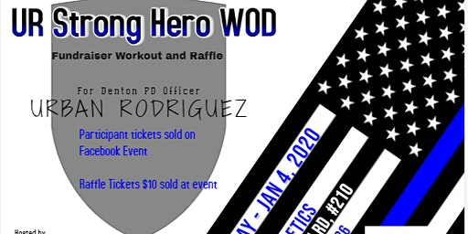U.R. Strong Hero Workout Fundraiser