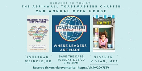 How I Found My Voice - Aspinwall Toastmasters 2nd Annual Open House tickets