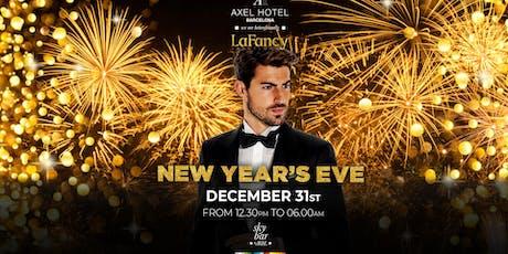 Axel Hotel x La Fancy // Rooftop NYE Party entradas
