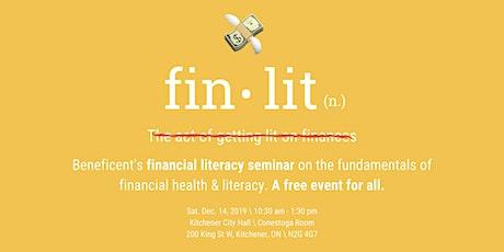 Fin•Lit 2K19: Beneficent's Financial Literacy Seminar tickets