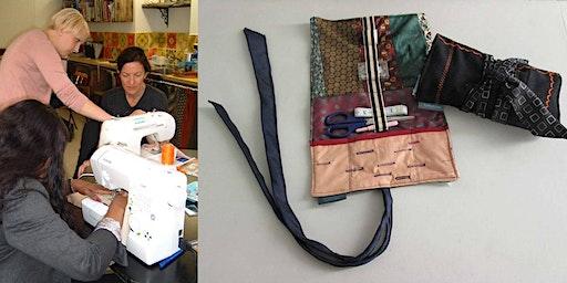 "Beginners Sewing 2 (zips, buttonholes, bindings & create a ""utility roll"")"