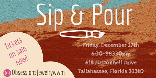 Sip & Pour: Hosted By Obsession's Gift Shop