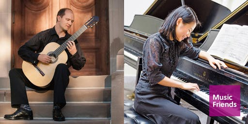 "House Concert with Wine: ""The Burdeti Duo"" Plays Guitar & Piano Duets"