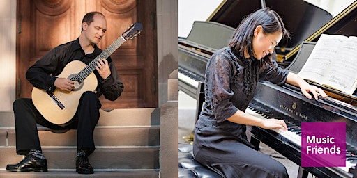 """House Concert with Wine: """"The Burdeti Duo"""" Plays Guitar and Piano Duets"""