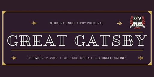 Tipcy Gala 2019: Great Gatsby