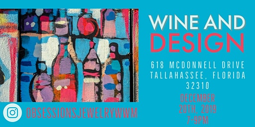 Wine & Design: Hosted By Obsession's Gift Shop