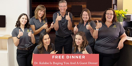 Pain Free Naturally   FREE Dinner Event with Dr. Lee Ann Kalaba, DC