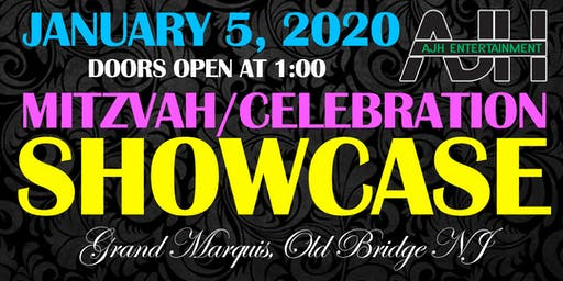 Grand Marquis & AJH Entertainment Mitzvah Showcase 2020