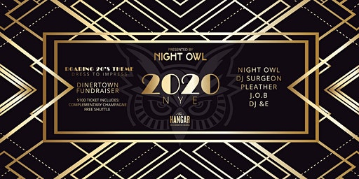 New Years 2020 - DinerTown Fundraiser