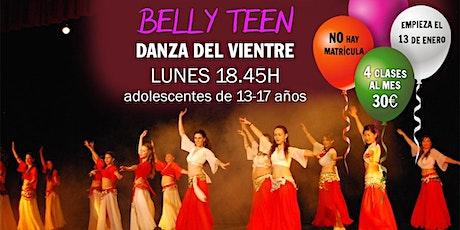 Clases de danza del vientre (13 a 17 años) entradas