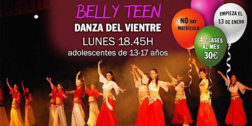 Clases de danza del vientre (13 a 17 años)