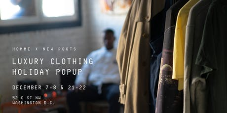 Luxury Clothing Holiday Popup tickets
