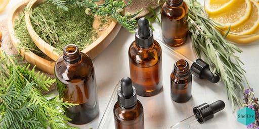 DIY Holiday Gift: Essential Oils Workshop