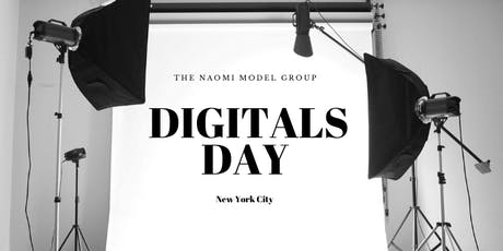 """NYC Model Call """"Digitals Day"""" by The Naomi Model Group tickets"""