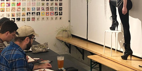 DRINK & DRAW - NUCLEUS PORTLAND with a Costumed Model (3rd Thursdays) tickets