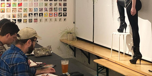 DRINK & DRAW - NUCLEUS PORTLAND with a Costumed Model (3rd Thursdays)