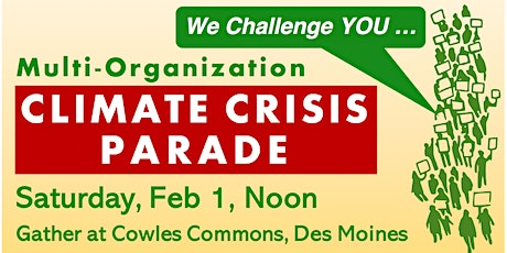 Climate Crisis Parade tickets