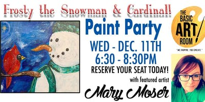 Come Paint Frosty the Snowman