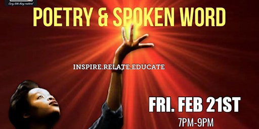 Poetry & Spoken Word (Feb 21st)