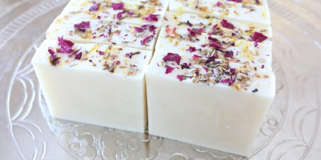 MASTERCLASS: DESIGN YOUR OWN COLD PROCESS SOAP tickets