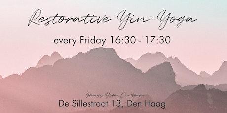 Restorative Yin Yoga tickets