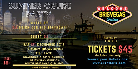SUMMER CRUISE PARTY tickets