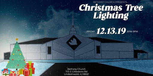 Christmas Tree Lighting at Bethany Church!