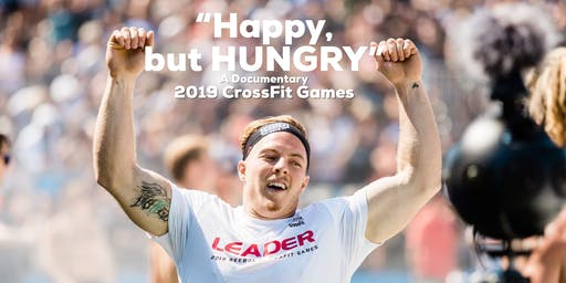 Happy but HUNGRY Art Basel CrossFit Games Documentary Screening