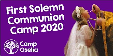 First Solemn Communion Camp tickets