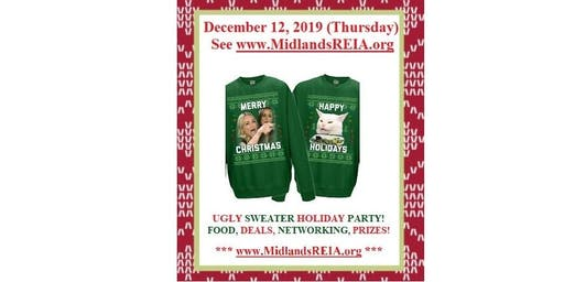 Real Estate Investing - Ugly Sweater Holiday Party