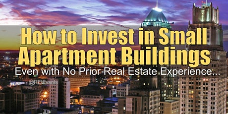 Investing on Small Apartment Buildings in Newark NJ tickets
