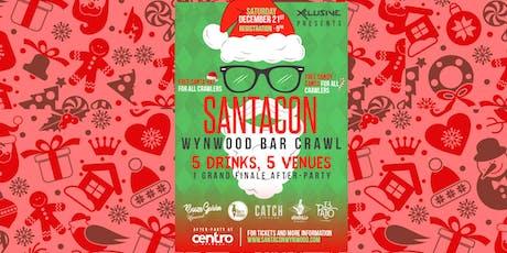 SantaCon Wynwood Bar Crawl!  tickets