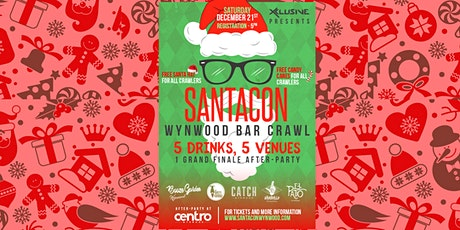 SantaCon Wynwood Bar Crawl!  tickets