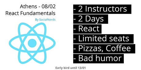 React Bootcamp - SocialNerds entradas
