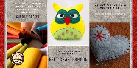 Felt Crafternoon tickets