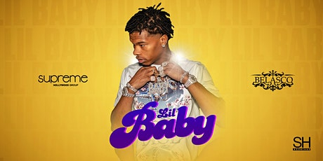LIL BABY AT THE BELASCO LA tickets