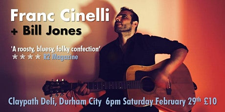 FRANC CINELLI + BILL JONES tickets