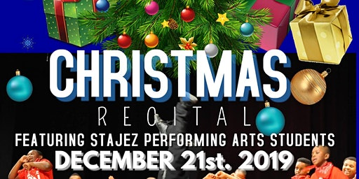 STAJEZ CULTURAL ARTS CENTER PRESENTS HIP-HOP HOLIDAY  7PM EVENING SHOW