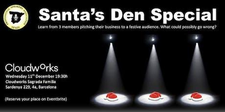 SANTA'S DEN: A festive Member's Spotlight session tickets