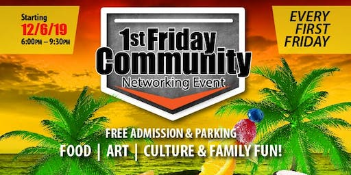 """West Palm Beach """"1st Friday Community Networking E"""