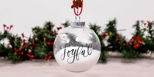 Sunday Funday Ornament Decorating