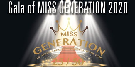 Gala of Miss Generation 2020 tickets