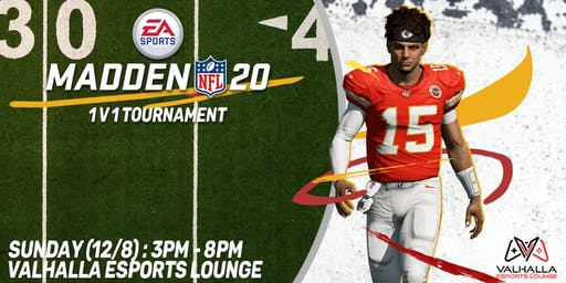 Madden 20 1v1 Tournament