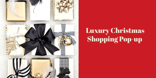 Luxury Christmas  Shopping Pop-up
